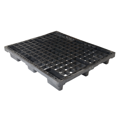 1200 X 1000mm 4 Way Entry Non-perimeter Based Lightweight Nestable Plastic Pallet for sale
