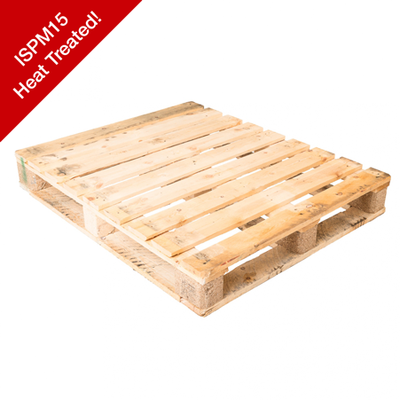 4-Way-Entry-Standard-Size-NEW-HEAT-TREATED-Grade-One-Pallet