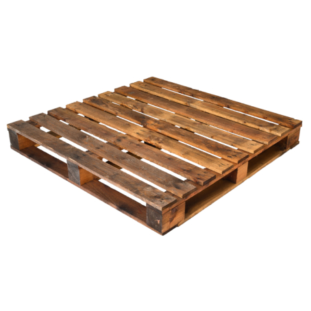 45inch 1145mm Square Four Way Entry Pallet for sale