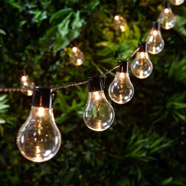 eddison bulb fairy lights