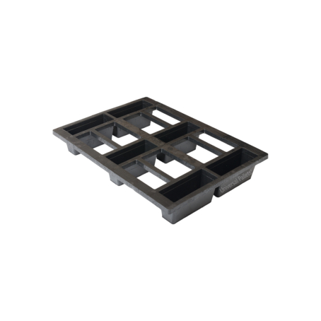 Plastic Nestable Lightweight Half-euro Pallet for sale