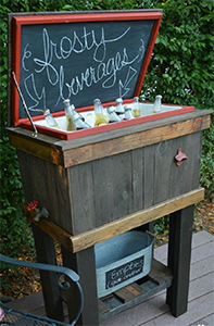 pallet drinks cooler